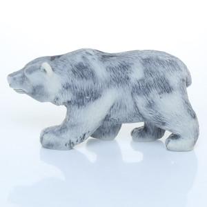 Медведь бурый 2 (барельеф) / магнит