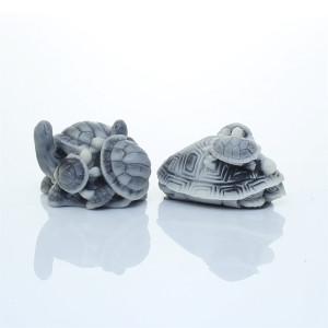 Черепашка с черепашатами (2 вида)