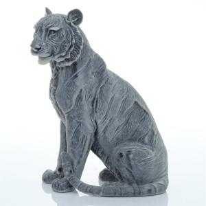 Тигрица сидящая