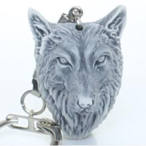 Голова волка / брелок