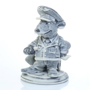Крыс - Генерал (шарж)