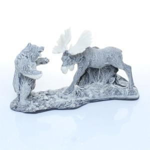 Лось и Медведь